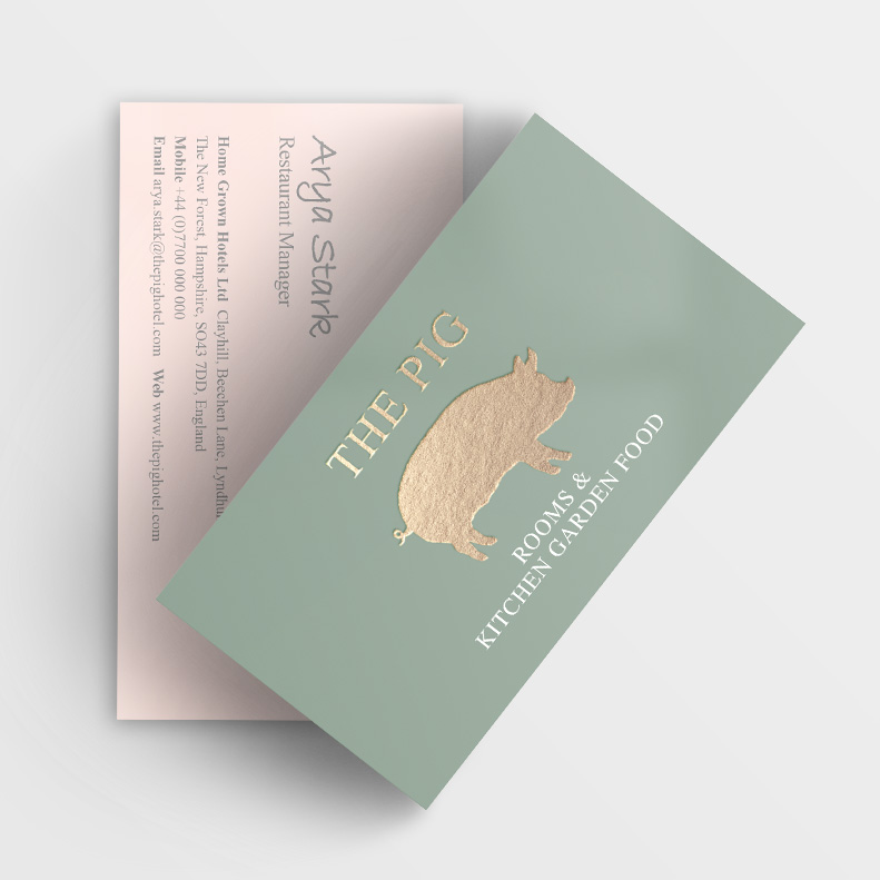 The PIG, Hotels and Hospitality, print
